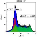 Quantification de la viabilité et/ou mort cellulaire (Annexine V –IP ; APO2.7…)